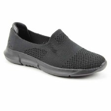 Heavenly Feet 'Holly' Ladies Shoes (Black)
