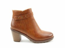 Heavenly Feet 'Rhona' Ladies Boots (Tan)