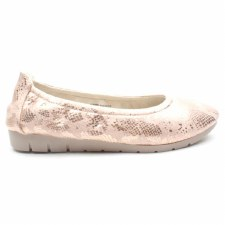 Heavenly Feet 'Sunshine' Ladies Shoes (Rose Gold)