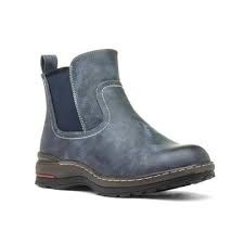 Heavenly Feet 'Thea' Ladies Boots (Blue)