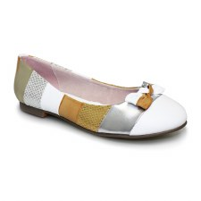 Lunar 'Nadia' Ladies Flats (Gold Multi)