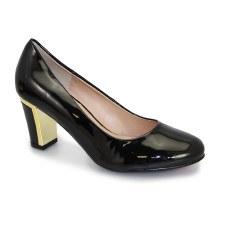 Lunar 'Carey' Ladies Heels (Black)