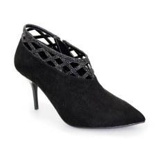 Lunar 'Polka' Ladies Heels (Black)