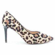 Glamour 'Roslyn' Ladies Heels (Leopard Print)