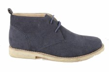 Goor '18' Mens Desert Boot (Navy)
