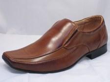 Goor Formal Mens Shoe (Tan)