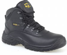 Grafters 'M216' Hiking Boot (Black)