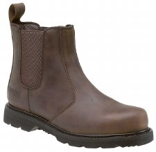 Grafters 'M539' Saftety Boot (Brown)
