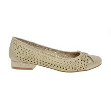 Lunar 'Hendrix' Ladies Shoes (Beige)