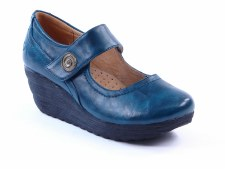 Heavenly Feet 'Lolly' Ladies Shoes (Ocean)