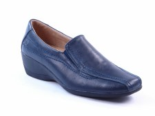 Heavenly Feet 'Sierra' Ladies Comfort Shoe (Navy)