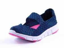 Heavenly Feet 'Mambo' Ladies Shoes (Navy)