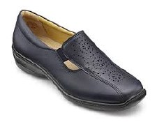 Hotter 'Calypso' Ladies Shoe (Navy)