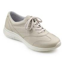 Hotter 'Lexi' Ladies Comfort Shoes (Parchment)