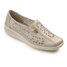 Hotter 'Rimini' Ladies Shoe (Soft Beige)