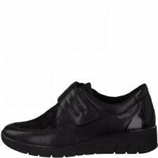 Jana '24603' Ladies Wide Fitting Shoes (Black)