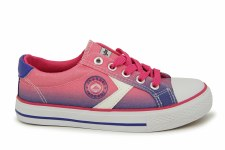 J'Hayber 'Chiloso' Girls Canvas Shoes (Fuchsia)