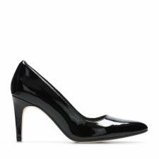 Clarks 'Laina Rae' Ladies Heels (Black Patent)