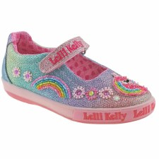 Lelli Kelly '1082 Rainbow' Girls Shoes (Multi)