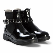 Lelli Kelly '3646' Girls Boots (Black Patent)