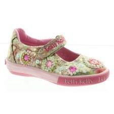 Lelli Kelly '4080' Girls Shoes (Gold Multi)