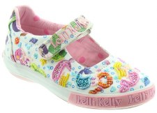 Lelli Kelly '5058 Mermaid' Girls Shoes (White Multi)
