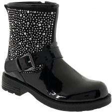 Lelli Kelly '5300' Baby Biker Boots (Black)