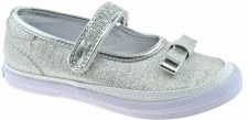 Lelli Kelly '5300' Girls Shoes (Silver)