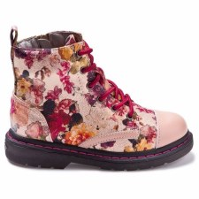 Lelli Kelly '5508' Girls Boots (Gold/Pink)