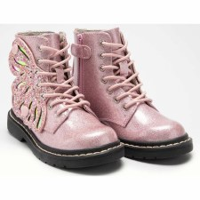 Lelli Kelly '5544' Girls Boots (Rosa Glitter)