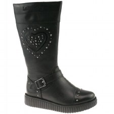 Lelli Kelly '6071' Girls Boots (Black)