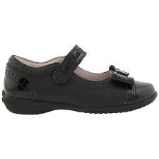 Lelli Kelly 'Gabriella' Girls School Shoes (Black)