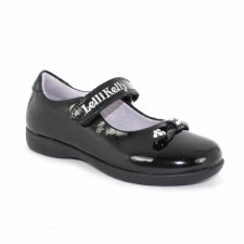 Lelli Kelly 'Lily' Girls School Shoe (Black Patent)