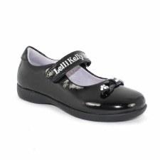 Lelli Kelly 'Lily' Girls School Shoe (Black Patent)