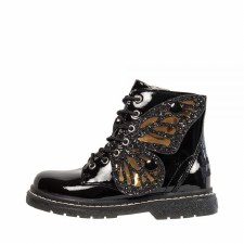 Lelli Kelly '6540' Girls Boots (Black Patent)