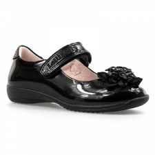 Lelli Kelly '8205 Tiffany' Girls School Shoes (Black Patent)