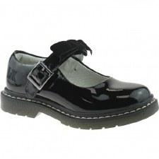 Lelli Kelly 'Frankie' Girls School Shoes (Black Patent)