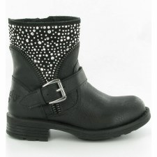 Lelli Kelly '8404' Girls Biker Boots (Black)