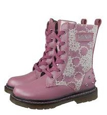 Lelli Kelly '8462' Girls Boots (Pink)
