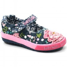 Lelli Kelly '9016' Baby Shoes (Navy Multi)