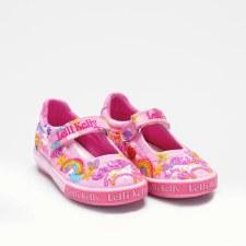 Lelli Kelly '9050' Girls Shoes (Pink Multi)