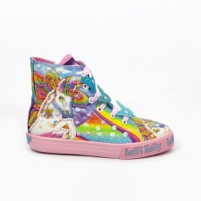 Lelli Kelly '9090' Girls Boots (Blue Multi)