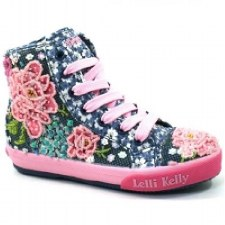 Lelli Kelly 'Rose' Ankle Boots (Navy Multi)