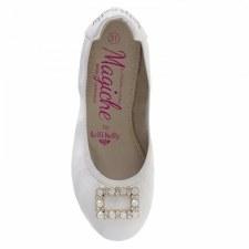 Lelli Kelly 'Magiche' Girls Shoes (White)