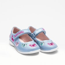 Lelli Kelly '9752' Girls Shoes (Blue Multi)