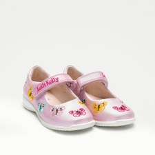 Lelli Kelly '9752' Girls Shoes (Pink Multi)