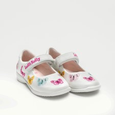Lelli Kelly '9752' Girls Shoes (White Multi)