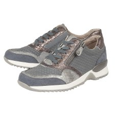 Lotus 'Golda' Ladies Shoes (Jeans Multi)