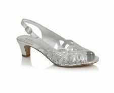 Lotus 'Harper' Slingback Sandals (Silver)