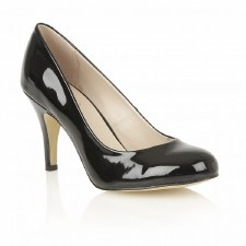 Lotus 'Izzile' Ladies Heels (Black Patent)